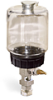 """(Formerly B1682-5), Single Feed Manual Lubricator, 1 pt Polycarbonate Reservoir, 5/8""""-18 Thread for Remote Mounting, 1/8"""" Female NPT Outlet -- B1681-0165B11W -- View Larger Image"""