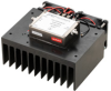 10 Watt P1dB, 8 GHz to 12 GHz, High Power Amplifier with Heatsink, SMA, 30 dB Gain, 47 dBm IP3 -- PE15A5053F -Image