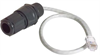 IP67 RJ45 Feed-Through Cable Gland with 14.5