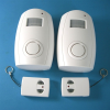 Energy-saving motion sensor Infrared Alarm - Pair