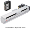 Linear Actuator (Slide) - Reversed Motor (Left Side), X-axis Table -- EAS6LX-E050-ARAC-3 -Image