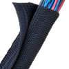 Spiral Wrap, Expandable Sleeving -- 1030-GWN1.38BK50-ND -Image