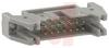 Conn Ejector Header HDR 14 POS 2.54mm Solder ST Thru-Hole -- 70114177