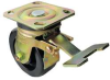 Swivel PlateCaster w/Lock,Rating 1000 lb -- 33H834