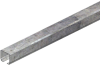 Standard Duty C-Track Festoon Track Channel, Galvanized, 10FT Length -- XA-530754