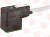 MURR ELEKTRONIK 7000-10021-2560750 ( MSUD VALVE PLUG FORM B 10 MM, PUR 3X0.75 GRAY, ROBOT, DRAG 7.5M ) -Image