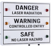 Entry-Guard™ Illuminated Triple Status Sign -- ETG-TLS