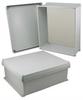 16x14x6 Inch UL® Listed Weatherproof NEMA 4X Enclosure w/Non-Metallic Mounting Plate, Corner Screws -- NBC161406-KIT01 -Image