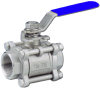 3-Piece SS Valve -- TC-3T/S Series