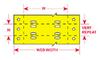 BradyTag Dot Matrix Printable Tags -- BT-508-YL-2050 - Image