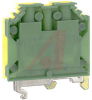 Terminal Block; Wire-to-Wire; Screw-Cage; 10; 12 mm; Polyamide 6.6 -- 70078333