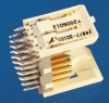 Backplane Connectors, 2.00 mm (0.079 in.), Metral® High Speed Products, Number of ports (per row)=6 -- 84817-101033LF - Image
