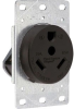 Straight Blade Power Receptacle -- 3830-40X