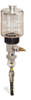 "(Formerly B1745-4X08), Manual Chain Lubricator, 9 oz Polycarbonate Reservoir, 1/4"" Round Brush Nylon -- B1745-009B1NR1W -- View Larger Image"