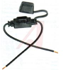 Fuseholder; In-Line; 32VDC Max; wire leads; for ATM Automotive Fuses -- 70149749