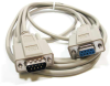 10ft DB9 M/F Null Modem Cable -- NU23-10 - Image