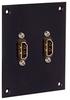 Universal Sub-Panel, Dual HDMI Couplers -- REF00038 -Image