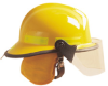 Cairns 660C Metro Fire Helmets -- View Larger Image