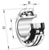 Split Style Spherical Roller Bearings -- 222S.408