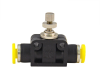 Clippard PQ Flow Controls Series - In-Line (Meter In or Meter Out) -- PQ-FV04 -Image