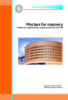 CS159 Mortars For Masonry - Guidance On Specification, Types, Production And Use - Gcg4 -- Concrete Society 159-Image