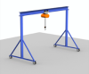 Fixed Height Steel Gantry Crane -- FG-1-15-12