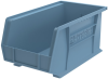 Akro-Mils Akrobin 60 lb Light Blue Industrial Grade Polymer Hanging / Stacking Storage Bin - 14 3/4 in Length - 8 1/4 in Width - 7 in Height - 1 Compartments - 30240 LIGHT BLUE -- 30240 LIGHT BLUE