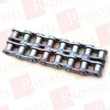 DIAMOND CHAIN 06B-2X10FT ( DIAMOND CHAIN , 06B-2X10FT, 06B2X10FT, ROLLER CHAIN, 06B/3/8IN PITCH, RIVETED, 2 STRAND, STEEL, 10FT LENGTH ) -- View Larger Image