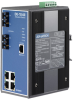 4+2 SC Type Fiber Optic Managed Industrial Ethernet Switch with Wide Temperature -- EKI-7554SI -Image