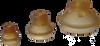 Vulkollan® Bellows Cups, Universal, 1.5 to 2.5 Folds -- SBU1-VU