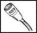 SHURE - 562 - MICROPHONE, -64DB, NOISE CANCELLING 6KHZ -- 337062
