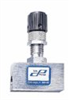 Cole-Parmer High-Resolution 316 SS Metering Valve, straight flow, 30 mL/min -- EW-03214-93