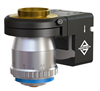 Single-Axis, Microscope Objective, Piezo Nanopositioning Stage -- QFOCUS QF-46