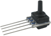 TruStability™ SSC Series-Standard Accuracy, analog, SIP LN: single axial barbless port, gage, 0 mbar to 100 mbar, 3.3 Vdc, dry gases only, no special options -- SSCSLNN100MGAA3 -Image