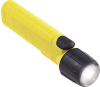 UK Flashlight, 4AA, Xenon, Front Switch, Yellow -- 14107