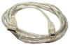 6ft USB 2.0 Cable Type A Male to Type B Male w/LED -- UB12-L06 - Image