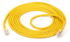 10' YL CAT5e 100MHz Stranded Ethernet Patch Cable UTP CM No Boot -- EVNSL04-0015 - Image