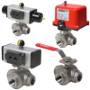 33D Series 3-Way Diverter Ball Valve -- A33D