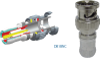 Double Bubble Mini RGB BNC Coax Compression Connector 25-26 AWG -- DB1BNC-25 - Image