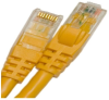 CAT5E 350MHZ ETHERNET PATCH CORD YELLOW 3 FT SB -- 26-256-36 -Image