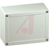 Enclosure;Box-Lid;Panel Mnt;ABS;GRAY;162x122x90mm;NEMA 4X;Qk Trn Screws -- 70074952 - Image