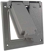 Two Gang (2) GFCI Cover Box Mount -- 5145-0