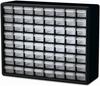 Cabinet, Plastic Storage Cabinet 64 Drawer -- 10164