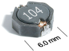 MOS6020 Series Surface Mount Power Inductors -- MOS6020-822 -Image
