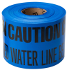Identoline Underground Warning Tape - Water -- 91298