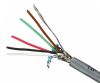 Quabbin Multiconductor RS-232, AWM 2919 – 24 AWG, 8 Conductor, Shielded, PVC -- 8668 -- View Larger Image