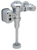Zurn AquaVantage® ZEMS Connected, Exposed Sensor Hardwired Diaphragm Urinal Flush Valve in Chrome -- ZEMS6003AV-IS-MOB-W1 -Image