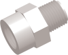 Commercial Grade Thread-Thread Straight Connector Male-Male -- AP03227FP227F -- View Larger Image