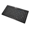 SIIG Wireless Ultra Slim Miltimedia Mini Keyboard - Keyboard -- JK-WR0612-S1