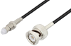 FME Jack to BNC Male Cable 72 Inch Length Using RG174 Coax -- PE3C3409-72 -Image